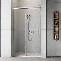 Душевая дверь в нишу Radaway Idea DWJS 130 R детали в ванной комнате