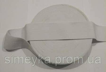 Резинка для шиття, ширина 5 см. Біла