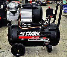 Компрессор Stark 3050 SAVD 2 цилиндра (2,2 кВт, 50 л., 350 л/мин)