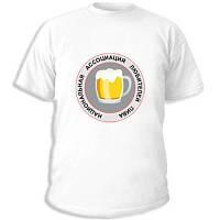 "Футболки с пиво-водочными приколами ""Клуб любителей пива"""
