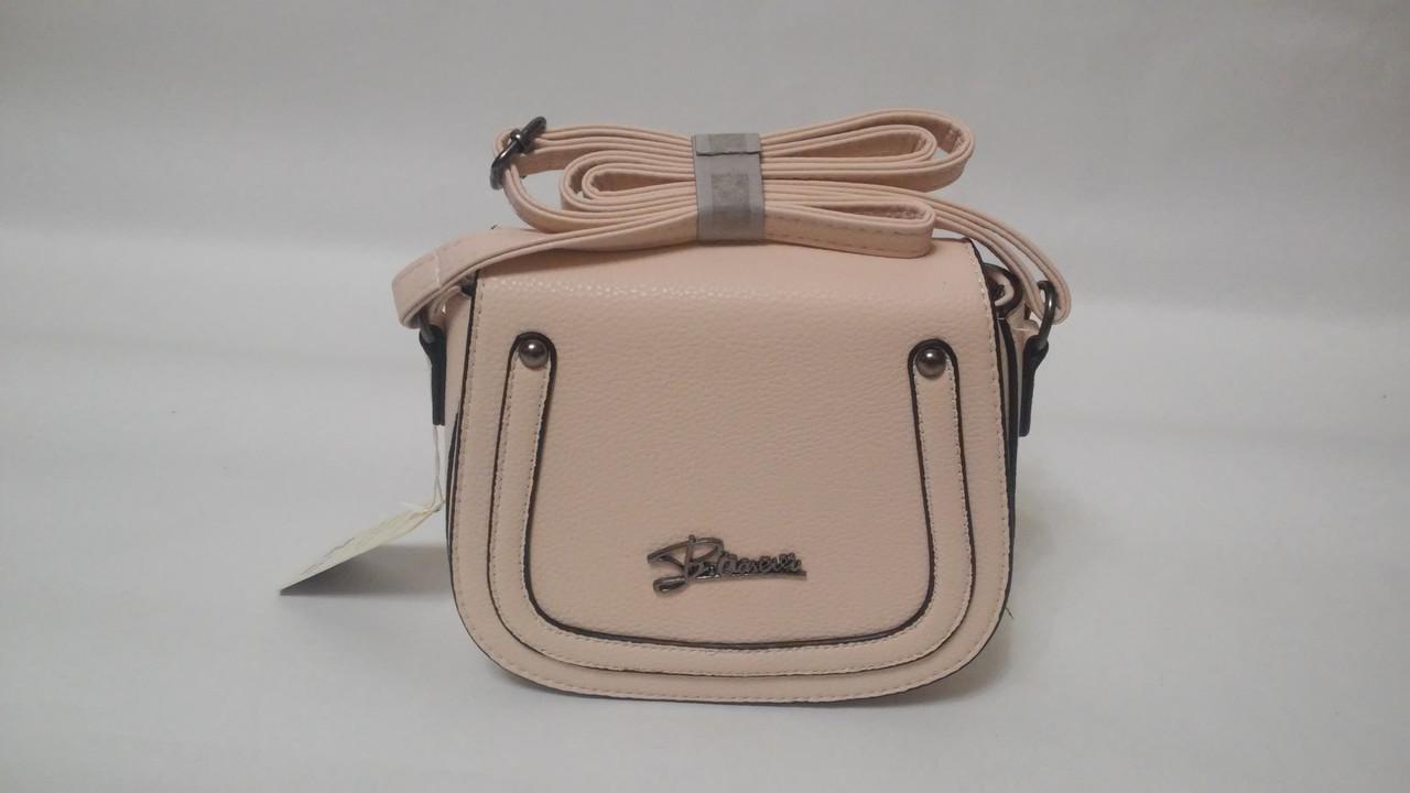 aeffa7174010 Бежевая маленькая женская сумочка А-674 - интернет-магазин YOUR STYLE в  Одесской области