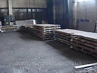 Лист нержавеющая сталь 08Х18Н10Т 12,0 Х 1250 Х 5000