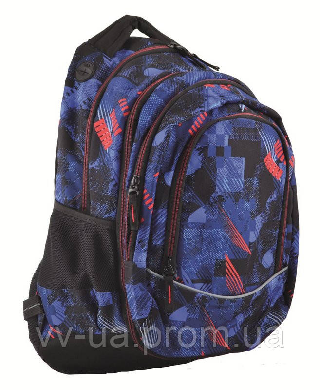 Рюкзак молодежный Yes 2в1 Т-40 Trace, 32*15.5*49 (554832)