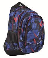 Рюкзак молодежный Yes 2в1 Т-40 Trace, 32*15.5*49 (554832), фото 1