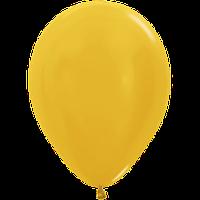 """Воздушные шары 12""""(30см) Металлик Золото 569 В упак:50шт. TM Sempertex"""