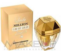 Женская туалетная вода Paco Rabanne Lady Million Eau My Gold W edt 50
