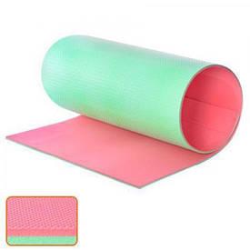Коврик для йоги 180*60*1.6см (103016-RGR) Красно-зеленый