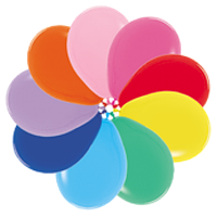 """Воздушные шары 12""""(30см) Пастель Ассорти В упак:50шт. TM Sempertex"""