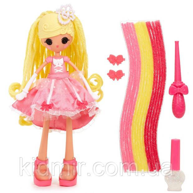 Лалалупси Герлз Разноцветные пряди Золушка Lalaloopsy Girls Cinder Slippers