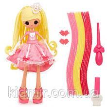Кукла Lalaloopsy Girls Cinder Slippers Лалалупси Герлз Разноцветные пряди Золушка