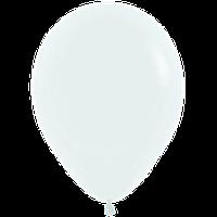"""Воздушные шары 12""""(30см) Пастель БЕЛЫЙ 005 В упак:50шт. TM Sempertex"""