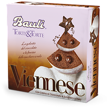 Шоколадный тортик Bauli Torte Viennese, 375 г.