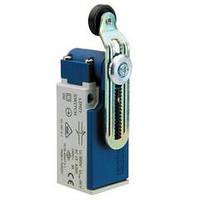 Концевой выключатель с пластиковой консолью и пластиковым роликом D=18мм коротким изогнутым L5K13MEР124, ЭМАС