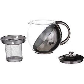 Заварочный чайник A-PLUS из нержавейки 900 мл (0113)