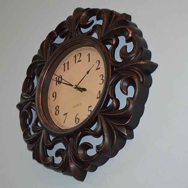 Часы на стену Bronze (41х41х5 см.)