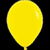 """Воздушные шары 12""""(30см) Пастель ЖЁЛТЫЙ 020 В упак:50шт. TM Sempertex"""