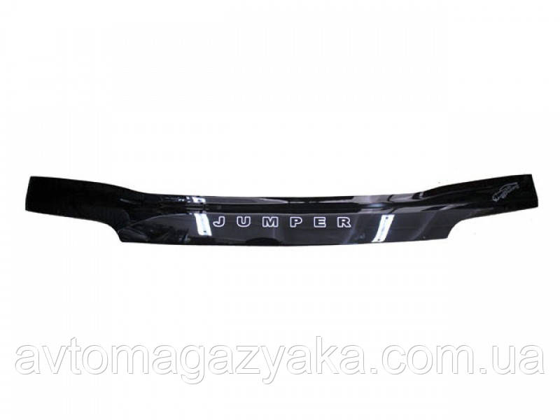 Дефлекторы на капот Citroёn Jumper с 2014 г.в. (с заходом на фары)