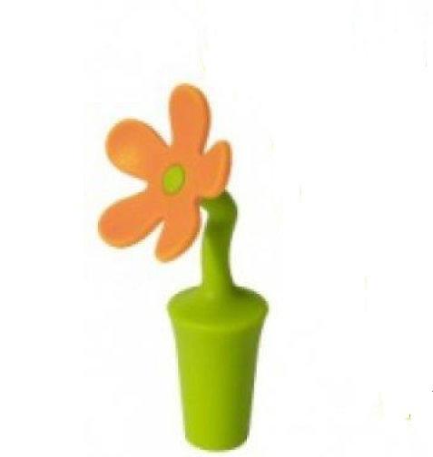 Пробка для пляшок силіконова Квітка