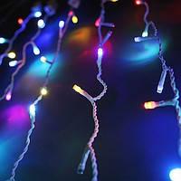 Светодиодная гирлянда дождь, 2х1,5 м, 432 LED, ПВХ
