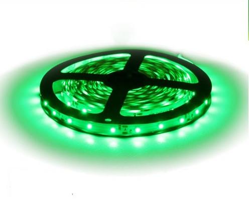 Светодиодная лента B-LED 3528-60 G зеленый, негерметичная, 5метров