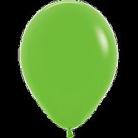 """Воздушные шары 12""""(30см) Пастель СВЕТЛО ЗЕЛЁНЫЙ 031 В упак:50шт. TM Sempertex"""