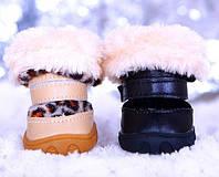 """Снегоступы - Ботинки для собак """"Leopard & Black"""". Обувь для собак."""