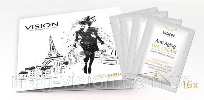 Пробники косметики VISION Skincare (х16шт)