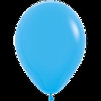 """Воздушные шары 12""""(30см) Пастель ГОЛУБОЙ 040 В упак:50шт. TM Sempertex"""