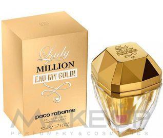 Женская туалетная вода Paco Rabanne Lady Million Eau My Gold Paco Rabanne Lady Million Eau My Gold W edt 80, фото 1