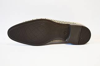 Туфли кожаные светло-бежевые Nord 7623, фото 3