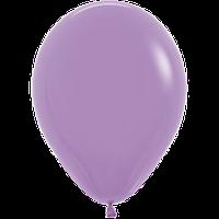 """Воздушные шары 12""""(30см) Пастель СИРЕНЕВЫЙ 050 В упак:50шт. TM Sempertex"""