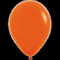 """Воздушные шары 12""""(30см) Пастель ОРАНЖЕВЫЙ 061 В упак:50шт. TM Sempertex"""