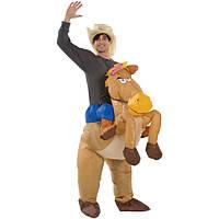 """Надувной костюм """"Ковбой на лошади"""""""