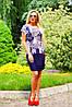 Легкое платье из микромасла (0901-0900 svt), фото 3