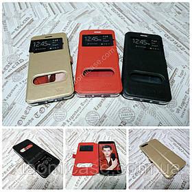 Кожаный чехол книжка VIP для Xiaomi Mi Note 3 (3 цвета)