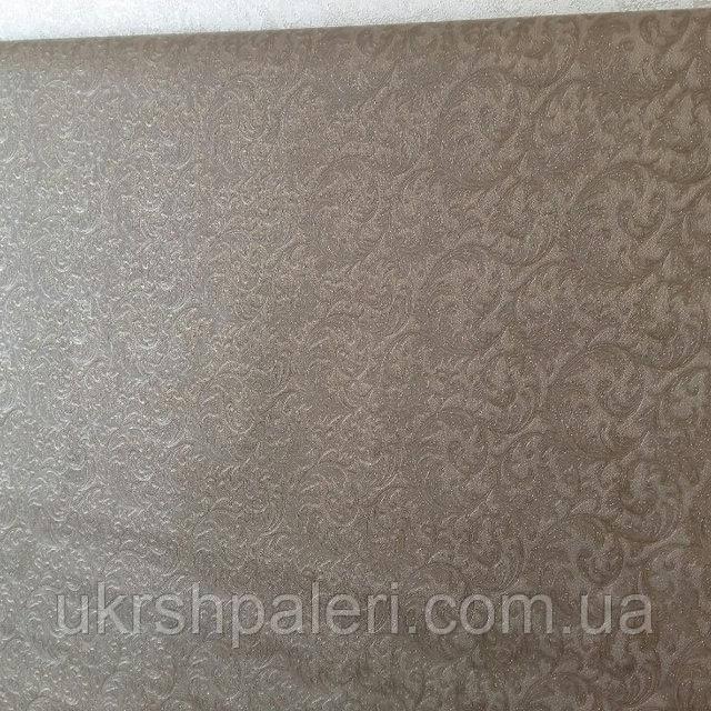 Обои Ташкент 2 8548-12 винил горячего тиснения,ширина 1.06,в рулоне 5 полос по 3 метра.