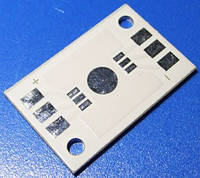 Плата печатна алюмінієва 000-14-01 світлодіод RGB 32x20 3596