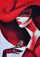 """Набор для вышивания бисером Картина бисером """"В стиле RED-2""""  P-167"""