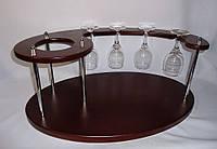 Набор для вина на 4 рюмки - Подиум