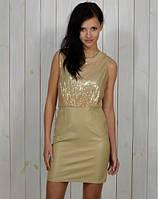 Платье с паетками, кожаное платье, вечерние платеь, платье на Новий год ,яркое платье