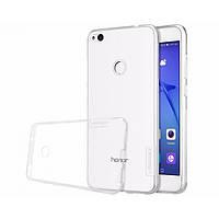 Huawei P8 Lite (2017) Чехол-накладка NILLKIN - Nature TPU (White)