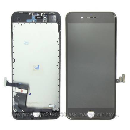 Дисплей Apple iPhone 8 Plus | Оригинал | Черный, фото 2