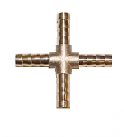 Крестовина латунная 6 мм