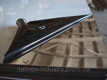 Нержавеющий лист AISI 321 08Х18Н10Т 0,8 Х 1250 Х 2500 зеркало, фото 2