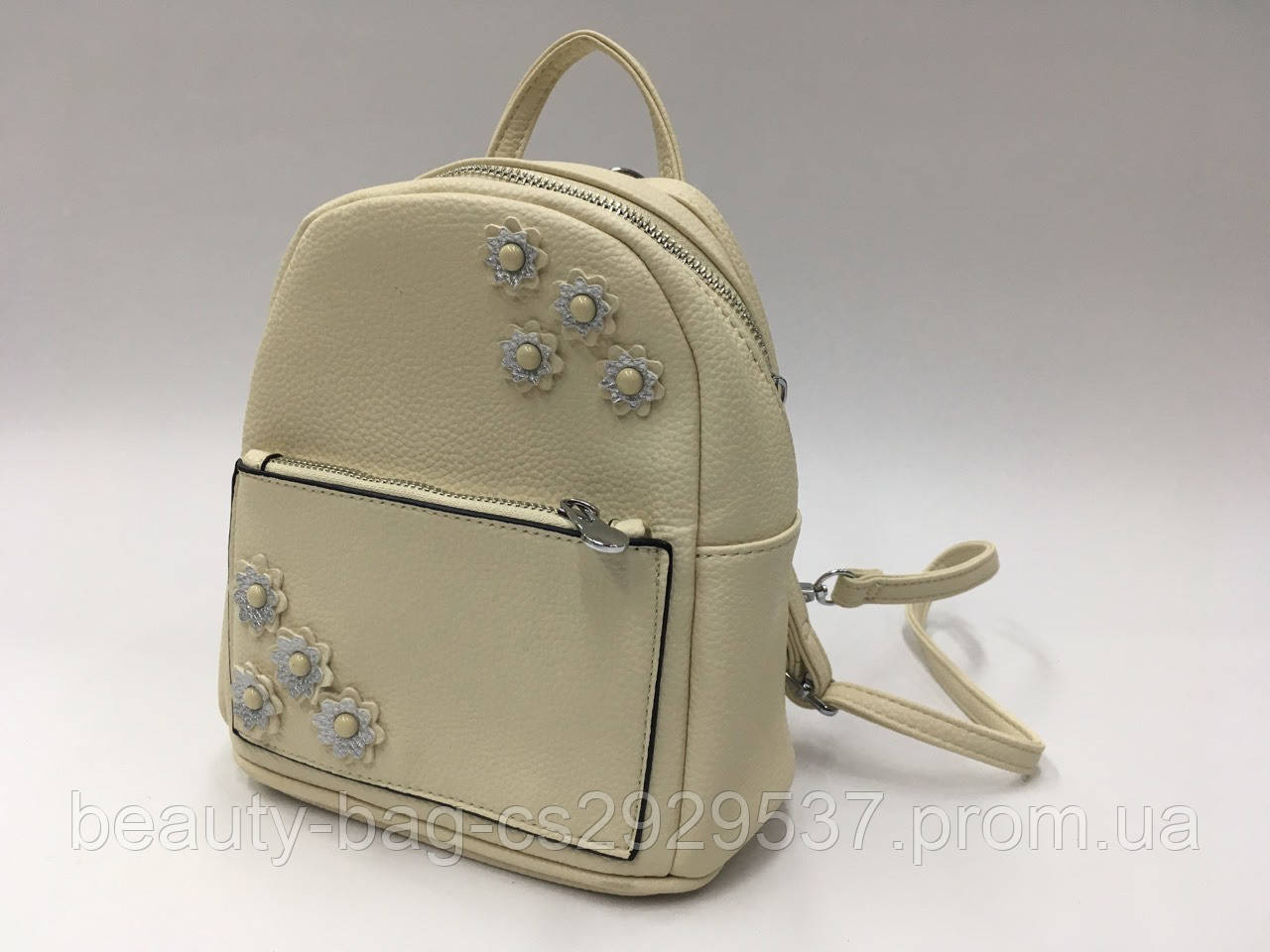 Рюкзак молодежный GJ-28 beige бежевый