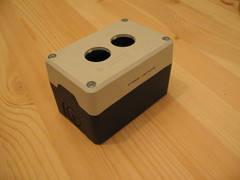 Пост кнопочный  пластиковый пуcтой 2-х кнопочный IP65 PY2BOS, ЭМАС