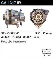 Генератор Ford Transit 92- 2,5DI/TD 92- CA1317IR, фото 1
