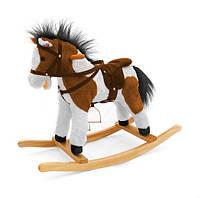 Качалка-лошадка Milly Mally Темно-коричневые пятна (0080)