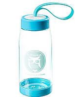 """Стильная эко - бутылка для воды """"S-Forest"""" 400мл многоразовая"""