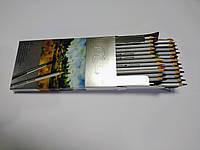 Карандаши цветные акварельные с кистью  12 цветов Marko профессиональные